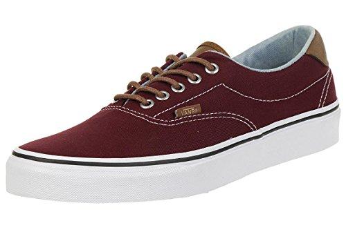 Vans Classic Era Sneaker Skater Unisex Canvas Red, Numero di Scarpe:EUR 42