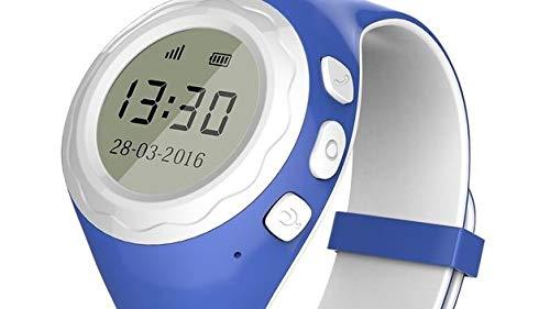 Ping Naut Pingonaut Kidwatch Smartwatch für Kinder mit GPS und SOS-Telefon mit Ortung Home Mobile 8000249, Blau