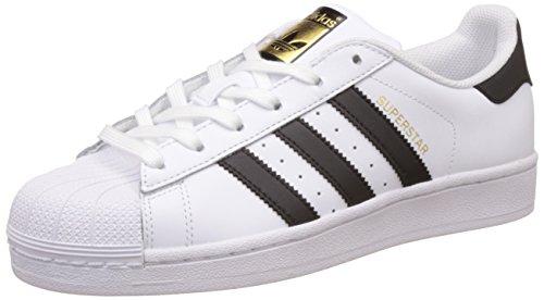 adidas Damen Superstar Sneaker, Weiß Core Black/Footwear White 0, 40 EU -