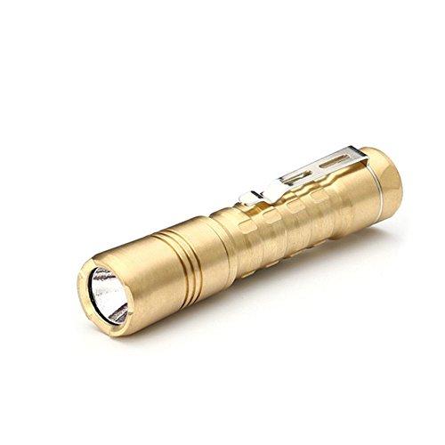Preisvergleich Produktbild Mini Taschenlampe, Ez-Buy Outdoor Camping LED Taschenlampe mit Nichia 219C 4000K High CRI LED (Batterie nicht enthalten)