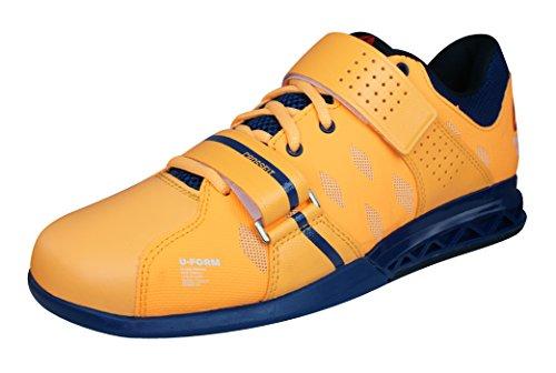 Reebok - R Crossfit Lifter P Solar, - Uomo Arancione/Blu