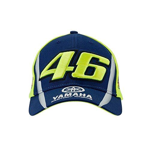 VR46 - Unisex Kinder Valentino Rossi The Doctor YAMAHA 46 Fluo Baseball Kappe, Mehrfarbig, Einheitsgröße