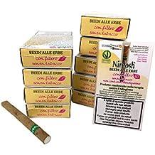 Nirdosh - Cigarrillos con Hierbas para Dejar de Fumar - 10 paquetes de cigarrillos de hierbas