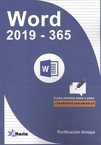 Libro y ebook Word 2019