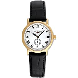 Longines Flagship Heritage 18kt Rose Gold Womens Luxury Strap Watch L4.291.8.21.2
