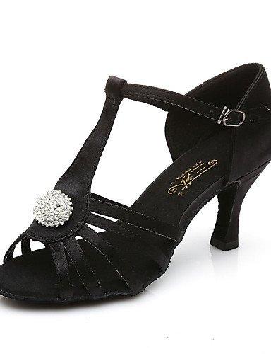 ShangYi Non Marron Chaussures PersonnalisablesTalon danseNoir de nUnw7qvP