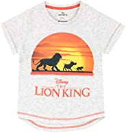 Disney Camiseta de Manga Corta para niñas The Lion King Rey León