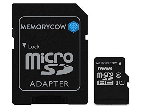Kingston 16GB microSDHC Speicherkarte für Amazon Fire Kids Edition, Barco Fire HD8, Fire HD10Tablets