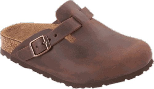 Birkenstock Boston, Damen Clogs & Pantoletten  braun EU 42