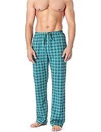 179f656698 Timone Pantalones Largos de Pijamas 100% Algodón Hombre TPP-001