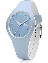 Ice-Watch - ICE duo White sage - Blaue Herrenuhr mit Silikonarmband - 001489 (Small)