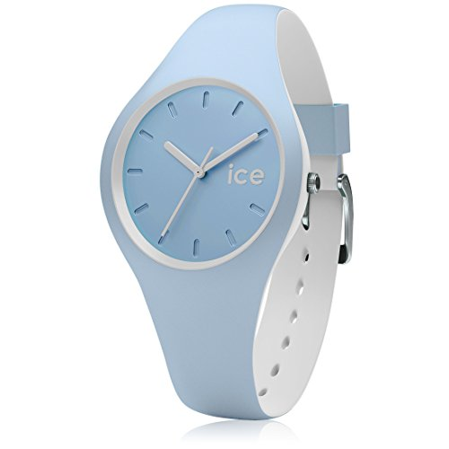 Ice-Watch - ICE duo White sage - Montre bleue mixte avec bracelet en silicone - 001489 (Small)