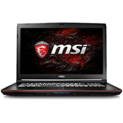 "MSI GP72VR Leopard Pro - Portátil para Gaming de 17.3""(Procesador i7, 8 GB Ram, USB 3.0, Windows 10), Negro"