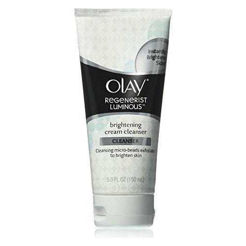 Olay Regenerist Luminous Brightening Cream Facial Cleanser, 5 Ounce (Pack