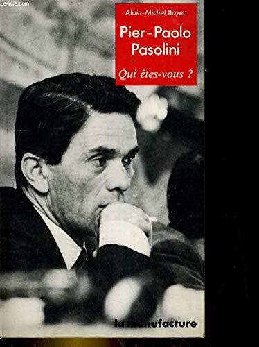 Pier-Paolo Pasolini