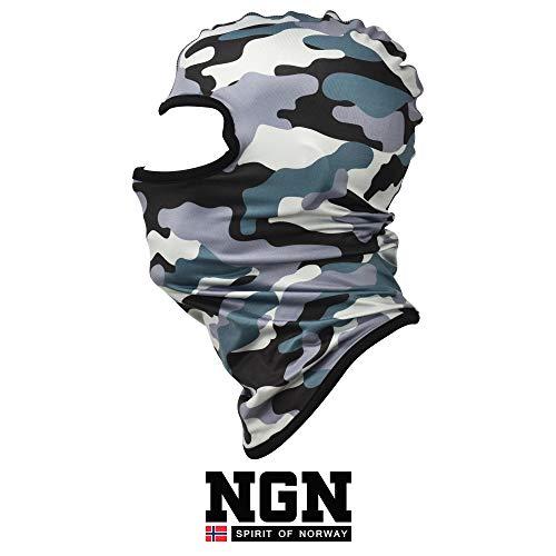 NGN Balaclava Carmouflage Herren – Sturmhaube Camo Military für Ski, Snowboard & Motorrad | Tactical Tarn Sturmmaske | Atmungsaktive Skimaske | Winter Gesichtsmaske | Outdoor Face-Mask | Motorradmaske