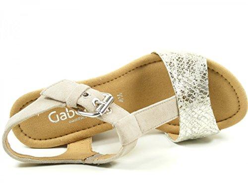 Gabor Shoes - Gabor, Scarpe da donna Argento/Koala Metallic