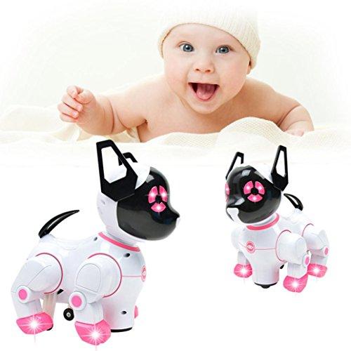 Elektronische Roboter Spielzeug (25x 15x 24cm), mamum Intelligente Elektronisches Haustier Spielzeug Roboter Hund Kinder Walking Puppy Action Spielzeug 25X15X24CM - Walking-spielzeug-roboter