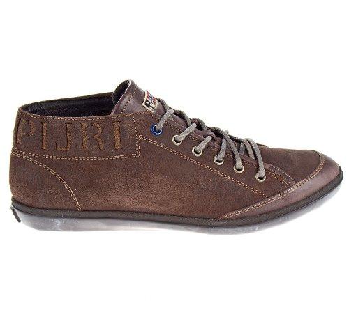 Napapijri , Chaussures de ville à lacets pour homme marron marron foncé marron foncé