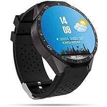 Wosonku Smart Watch 3G, Bluetooth WiFi GPS con Cámara 2.0MP Android 5.1 Monitor de Ritmo Cardíaco 1,39 Pulgadas Pantalla Táctil con Ranura Para Tarjeta Nano SIM