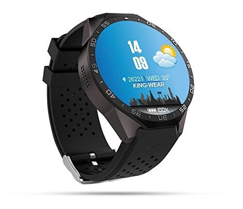 Wetter Maps (Wosonku 3G Smart Watch, Bluetooth WLAN GPS mit 2.0 MP Kamera Android 5.1 Betriebssystem Pulsmesser 1,39 Zoll Touchscreen Nano SIM-Karte Steckplatz)