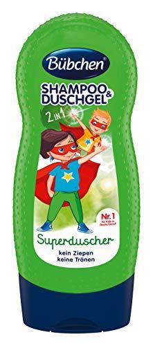 Bübchen KIDS Freches Früchtchen Shampoo und Spülung, 4er Pack (4 x 230 ml)