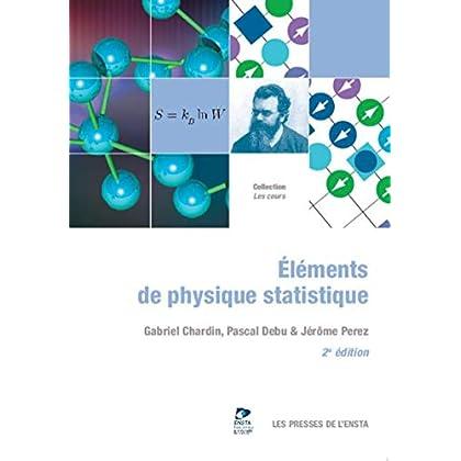 Éléments de physique statistique