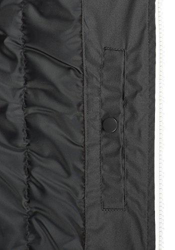SOLID Tillux Herren Weste mit Kapuze aus hochwertiger Materialqualität Dark Grey (2890)