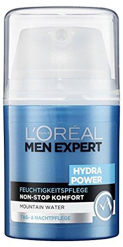 L'Oreal Men Expert Hydra Power Feuchtigkeitspflege, Tag- und Nachtpflege für Männer, 50 ml