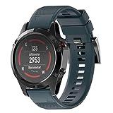 Bestow Garmin Fenix 5 GPS Reloj de Instalaci¨n r¨pida Correa de Banda de Repuesto Banda de...