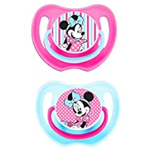 Disney - Baby Soother, Pacifier - Fun Style Minnie Mouse