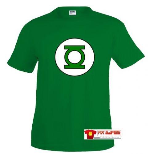 Camiseta Linterna verde logo clásico Talla: Talla