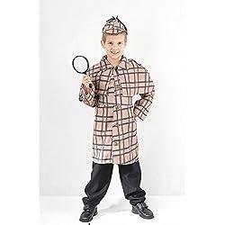 Sherlock Holmes - Disfraz infantil Fantasía - XL - 146 a 159cm