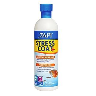 API Stress Coat Aquarium Water Conditioner, 473 ml
