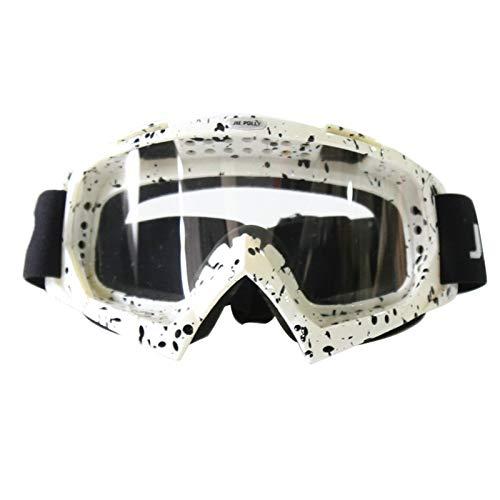 Coniea Sicherheitsbrille UV Schutz PC Polarisationsbrille Damen Sicherheitsbrille Weiß Schwarz Transparent