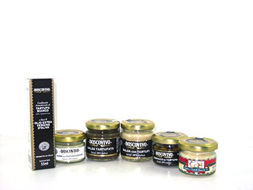 Bauletto black & white truffle - pacco assaggio da 6 vasetti vari