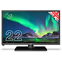 """Cello C2220S 22"""" inch Full HD LED TV with Freeview T2 HD, DVB and Built In Satellite– UK Made"""