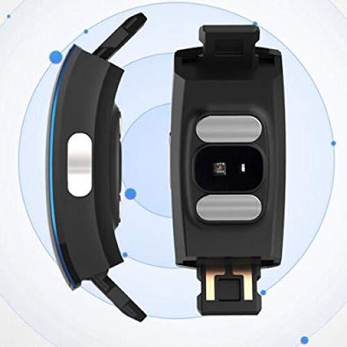 CN Pulsera Inteligente PPG + ECG Electrodo Fotoeléctrico Precisión Presión Arterial Ritmo Cardíaco Medición del Sueño Wechat Recordatorio Hombres a Prueba de Agua,UNA,Un tamaño