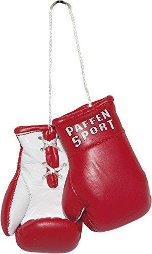 Paffen Sport Colour Mini Boxhandschuhe - Anhänger fürs Auto - rot/weiß