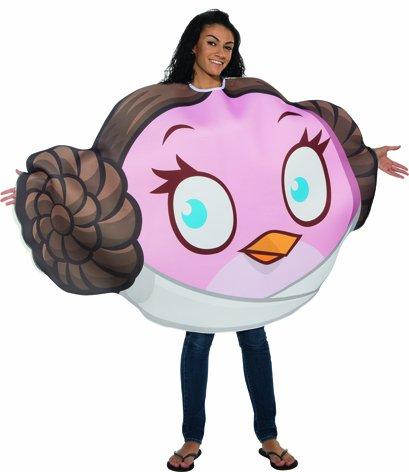 Angry Birds Star Wars Damen Kostüm Prinzessin Leia Karneval Gr.36-41 (Angry Bird Kostüm)