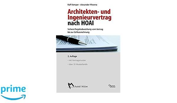 Architekten Und Ingenieurvertrag Nach Hoai Sichere