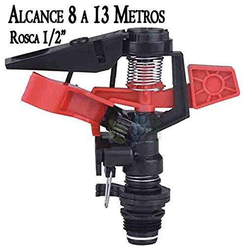 Suinga ASPERSOR agricola Angulo Ajustable. Alcance 8-13 MTS. Rosca Macho 1/2