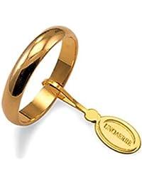 Fede Nuziale Unoaerre Classica da 5 grammi oro giallo 18kt
