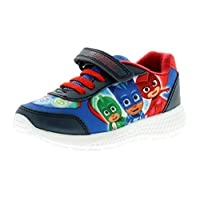 PJ MASKS Patoc Boys Synthetic Material Trainers Navy/Red/Green