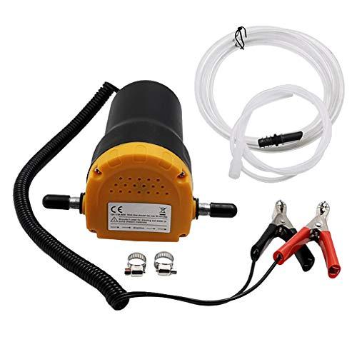 Homyl Kit Pompe à vidange Extracteur Huile Fluide Diesel électrique Voiture Moto 12v