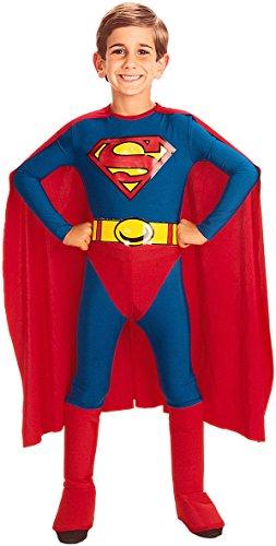 Abito Costume Carnevale Bambino Personaggio Superman Tg.L Cmrg882085