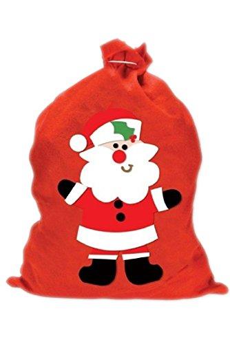Weihnachtsmann Sack Rot 60cm X 50cm