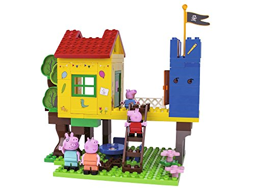 BIG 57077 - PlayBIG Bloxx Peppa Pig Baumhaus
