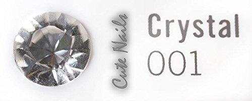 Bijoux à dents – 1 Cristaux Swarovski – Crystal Clair SS5 – env. 1,8 mm – Cute Nails