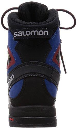 Salomon Herren L39089600 Wanderschuhe bk/gent/bl